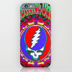 Grateful Dead #10 Optical Illusion Psychedelic Design Slim Case iPhone 6s