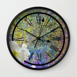 Time Explodes Wall Clock