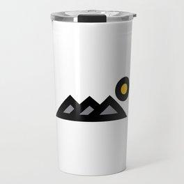 Three Peaks Travel Mug