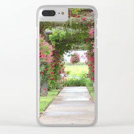 Enjoy the view Clear iPhone Case