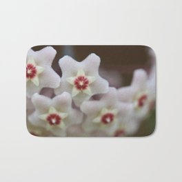 Hoya Flowers Bath Mat