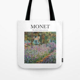 Monet - The Artist's Garden at Giverny Tote Bag