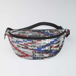 Clinically Proven (P/D3 Glitch Collage Studies) Fanny Pack