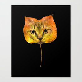 Autumn Cat-7 Canvas Print