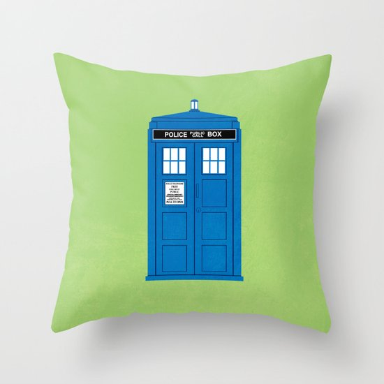 DOCTOR WHO. Throw Pillow