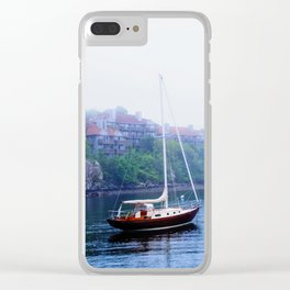 Afternoon Mist Clear iPhone Case