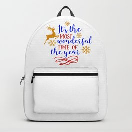 It's the Most Wonderful Time of the Year Backpack