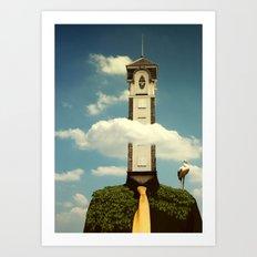 Cloudscraper Art Print