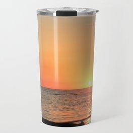 Dominican Sunset Travel Mug
