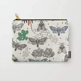 Moths and rocks. Carry-All Pouch