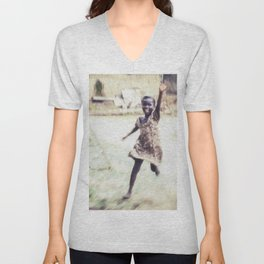 Enthusiastic Host Unisex V-Neck