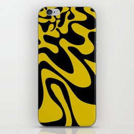 Swirly Whirly: Abstract Pop Art Painting by Bruce Gray iPhone Skin