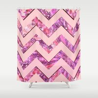 girly Shower Curtains featuring Girly Pink by gretzky