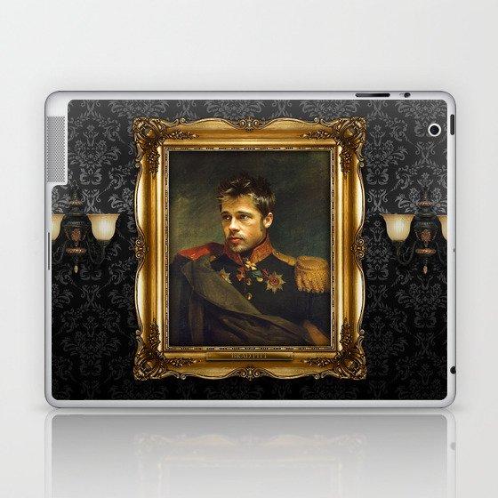 Brad Pitt - replaceface Laptop & iPad Skin