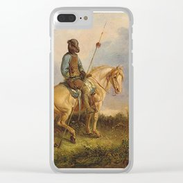 Chief Pachycephalosaurus Clear iPhone Case