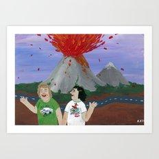 Extreme Tourism Art Print