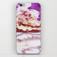 bleach iPhone & iPod Skins featuring Pink Bleach by Bzerk Creative