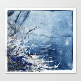 In Stormy Waters Canvas Print