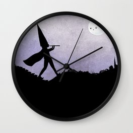 Pied piper of Hamelin Wall Clock