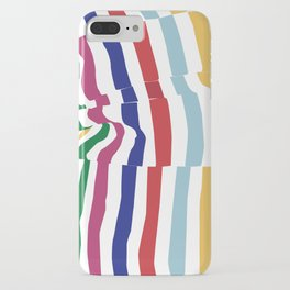 wrinkled fabric iPhone Case