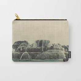 Buckingham Fountain Chicago Carry-All Pouch