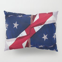 RED, WHITE AND BLUE Pillow Sham