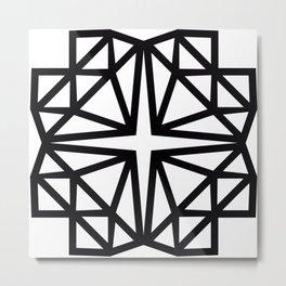 Estrella de copito Metal Print