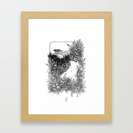 Emotional Mutilation Framed Art Print