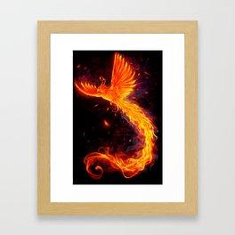 Immortal Flames t-shirt edit Framed Art Print
