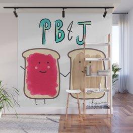 PB & J Wall Mural