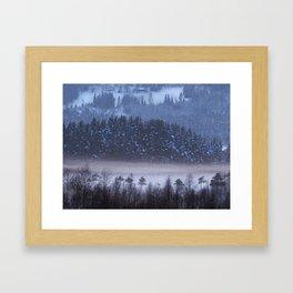 Mystic Islet Framed Art Print