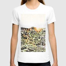 Sassi di Matera: view with sun T-shirt