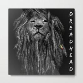 Dreadhead Metal Print
