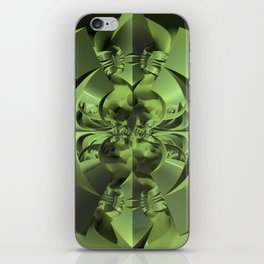 Cool Green of Summer iPhone Skin