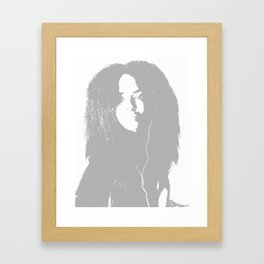 Sahar Framed Art Print