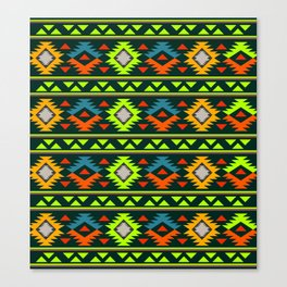 Geometric Navajo Canvas Print