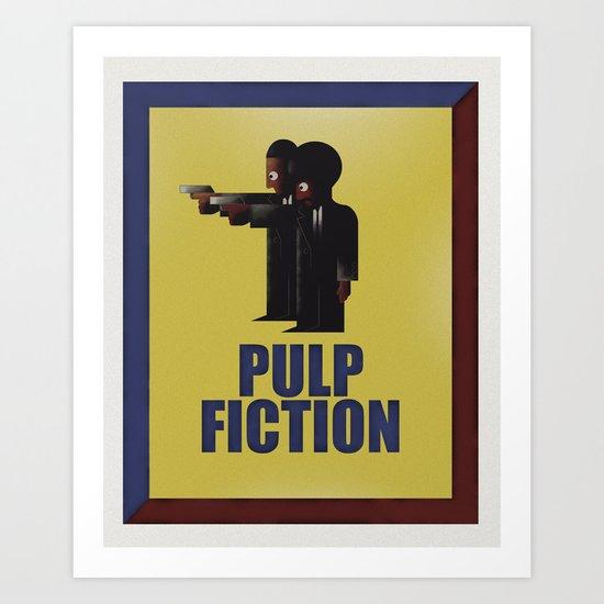 CASSANDRE SPIRIT - Pulp Fiction Art Print