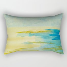 Lying On the Sand at Beachport Rectangular Pillow
