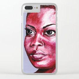 la garçonne - feminity Clear iPhone Case