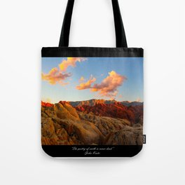 Poetry of Earth Tote Bag
