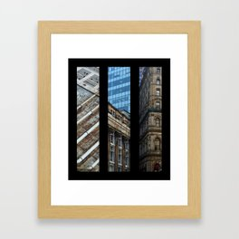 Aspects of Montreal Framed Art Print
