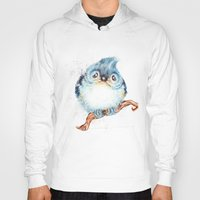 nursery Hoodies featuring Baby titmouse by Patrizia Ambrosini