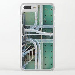 industrial pastels 2 Clear iPhone Case