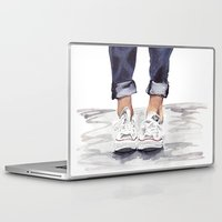 converse Laptop & iPad Skins featuring Converse by Bridget Davidson