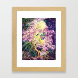 Air Express- Web Of Gifts Framed Art Print