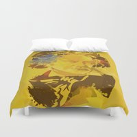 beethoven Duvet Covers featuring Beethoven by BIG Colours
