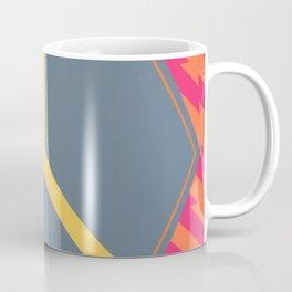 To Bee or Not - pink/orange graphic Coffee Mug