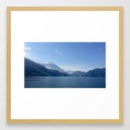 Lake Lucerne Framed Art Print