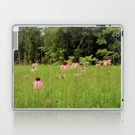 Purple Coneflowers of the Pennyroyal Plains Laptop & iPad Skin
