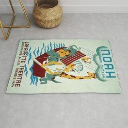 Vintage poster - Noah's Ark Rug